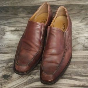 Ecco dress shoes size 14 leather